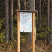 Karttateline puusta A1 - Karttakoko 594 x 841