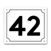 Talon numerokyltti - koristekehyksellä 18 x 21 cm